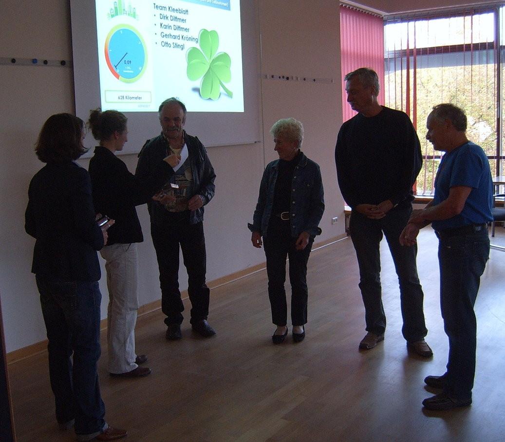 Fahrradaktivstes Team: Team Kleeblatt