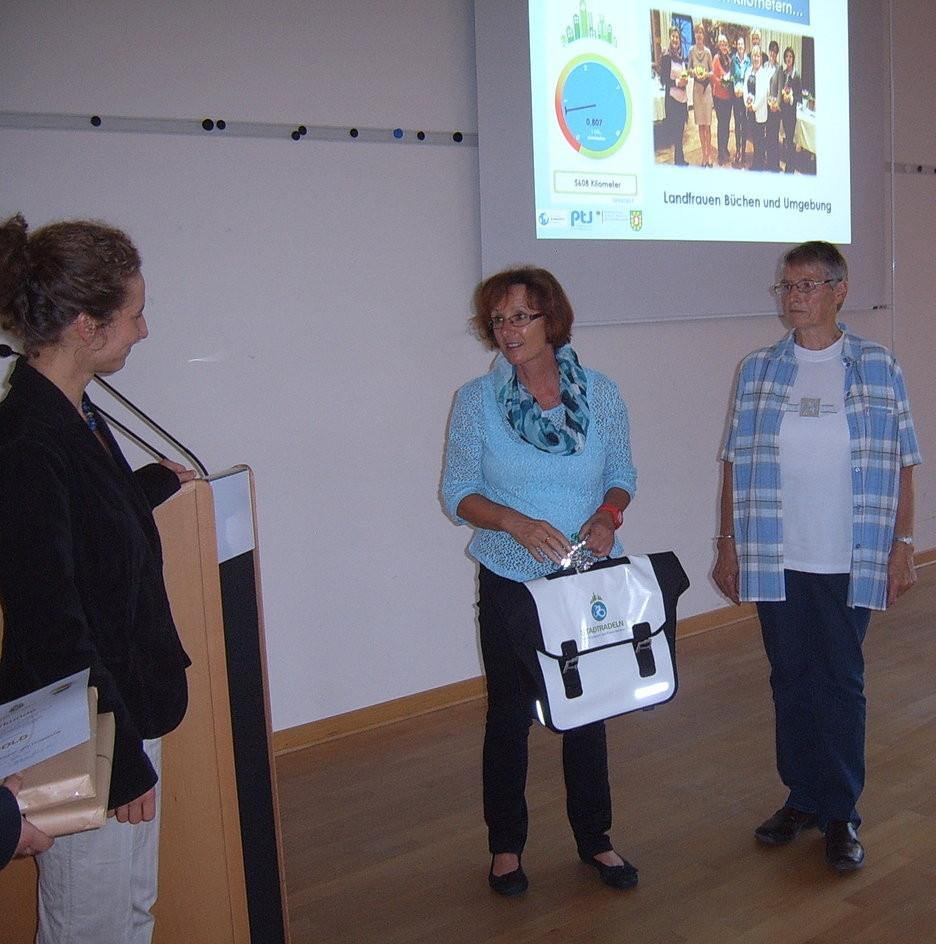 Unsere Gewinner: Das Team der Landfrauen (Frau Tofelde und Frau Heitmann)